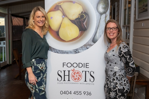 Clare Standfast from Windmill Creative at Foodie Shots launch