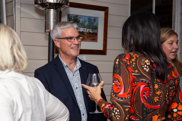 Bill Cahil at Foodie Shots Food Photography launch