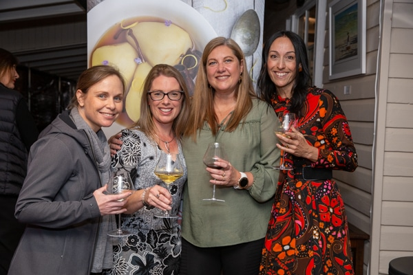 Friends and Family at Foodie Shots Launch
