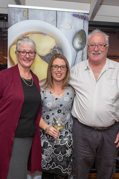 Kat Lynn with supporters at Food Photography launch