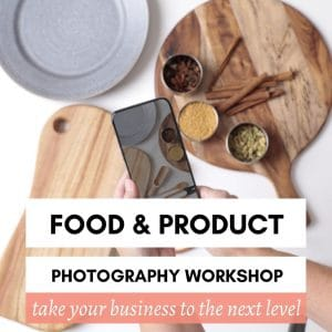 Foodie Shots Food and Product photography workshop tile