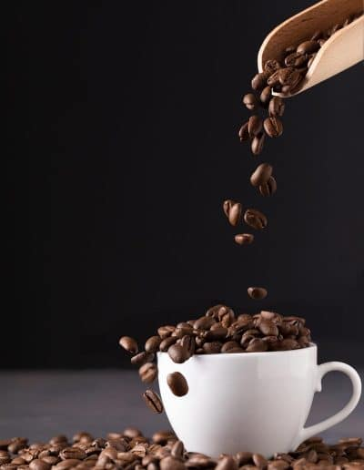 Foodie Shots Coffee Beans Studio Session