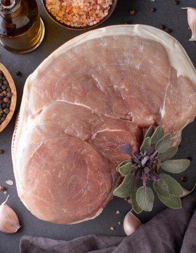 Foodie Shots - Pork on Black Tile - Michari Meats