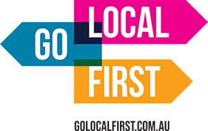 go local first logo