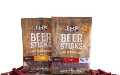 Jim's Jerky in the Foodie Shots Studio